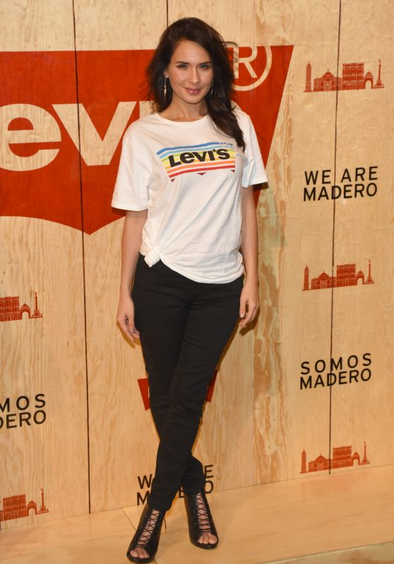 Adriana Louvier – Levi's Store Opening in Mexico City