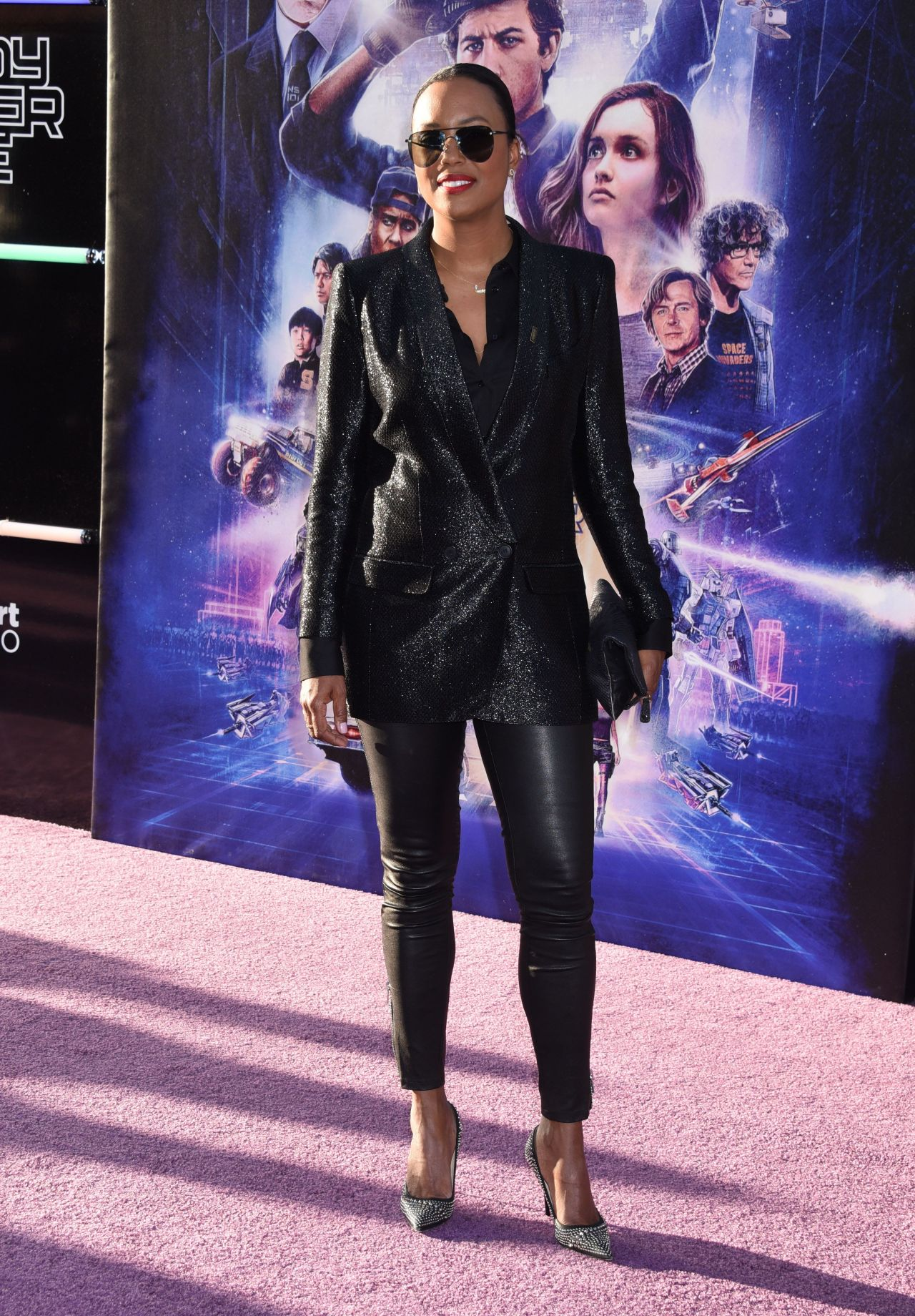 Aisha Tyler Ready Player One Premiere In Los Angeles