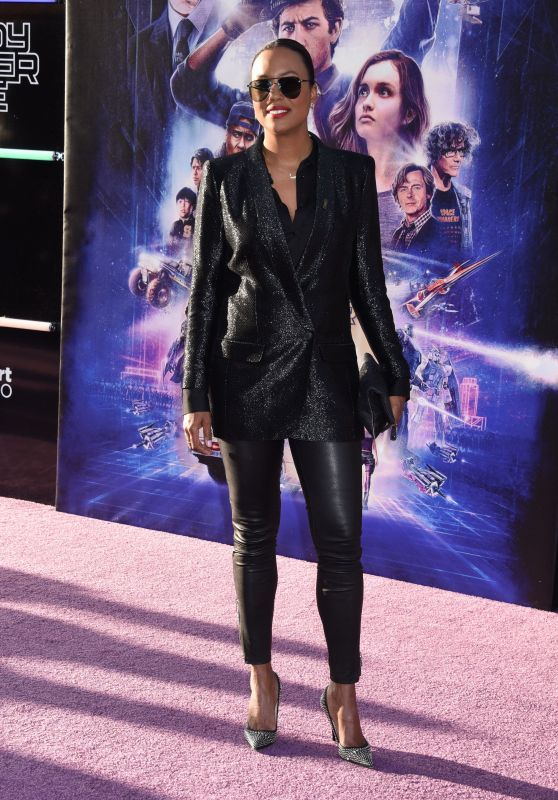 "Aisha Tyler – ""Ready Player One"" Premiere in Los Angeles"