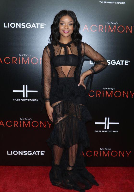 """Ajiona Alexus – """"Acrimony"""" Premiere in NY"""