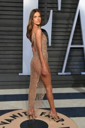 Alessandra Ambrosio – 2018 Vanity Fair Oscar Party in Beverly Hills