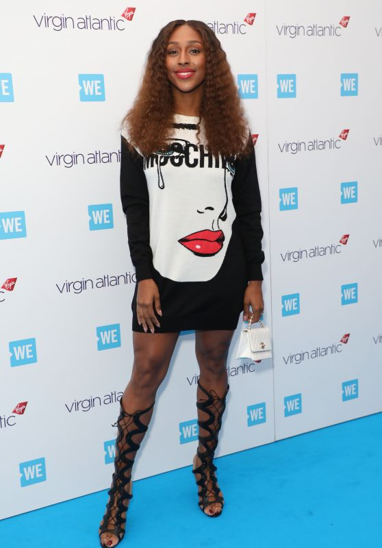 Alexandra Burke – WE Day in London 03/07/2018