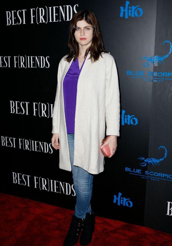 "Alexandra Daddario – ""Best F(r)iends"" Premiere in LA"