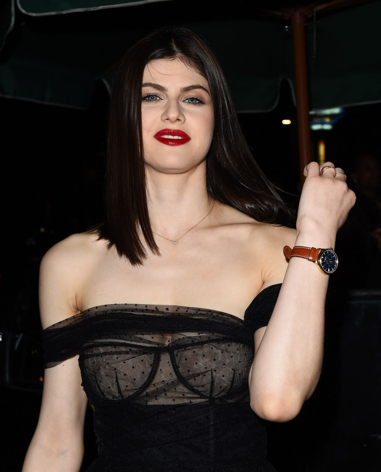 Alexandra daddario nipples