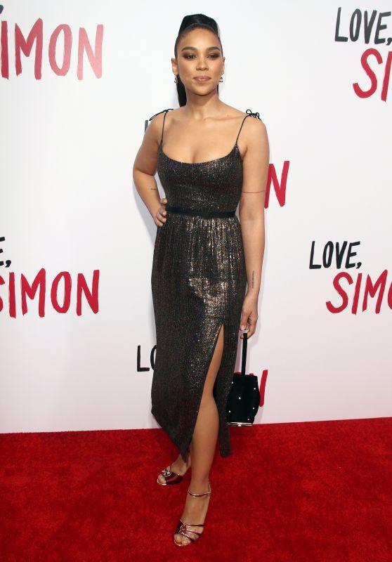 """Alexandra Shipp – """"Love, Simon"""" Premiere in LA"""