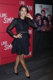 "Alexandra Shipp  - ""Love, Simon"" Premiere in New York"