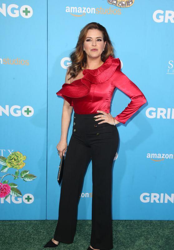 """Alicia Machado – """"Gringo"""" Premiere in Los Angeles"""