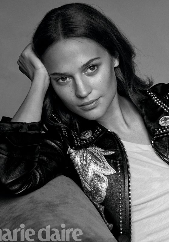 Alicia Vikander - Photoshoot for Marie Claire Us April 2018