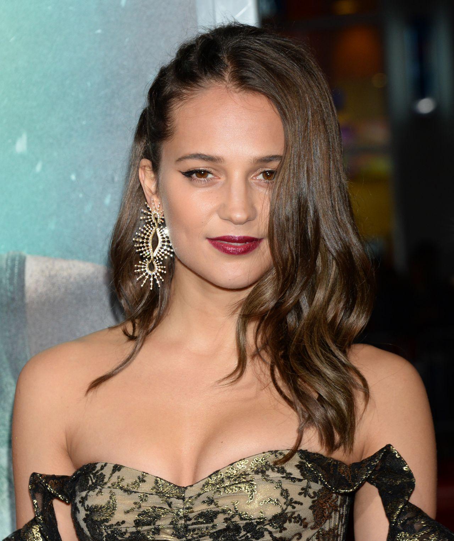 "Alicia Vikander Tomb Raider: ""Tomb Raider"" Premiere In Hollywood"