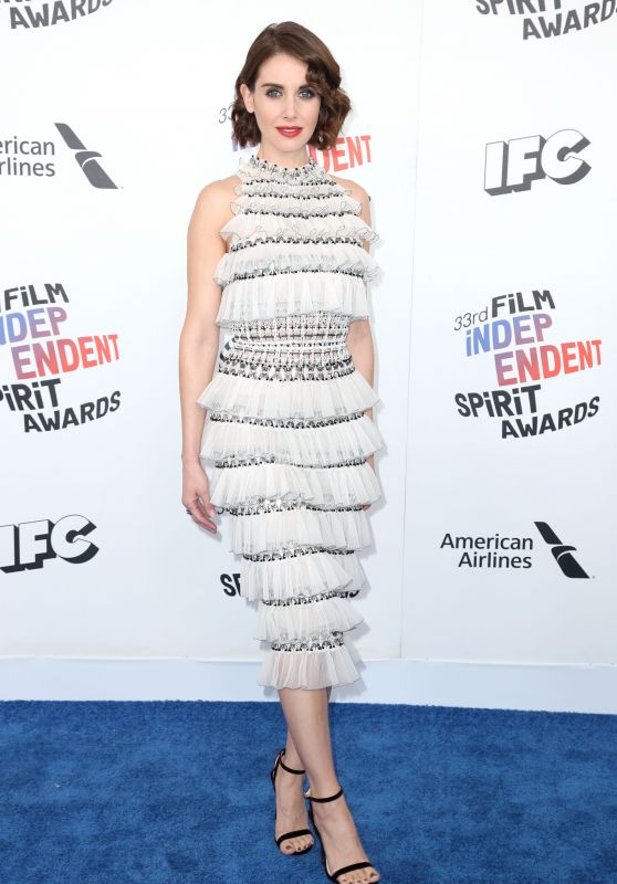 Alison Brie – 2018 Film Independent Spirit Awards in Santa Monica