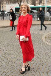 Alison Sudol – Miu Miu Show FW 18 in Paris