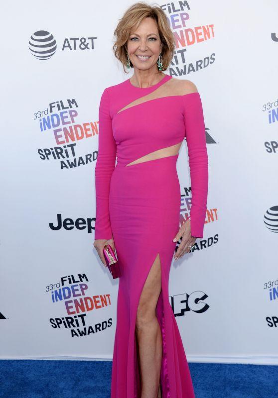 Allison Janney – 2018 Film Independent Spirit Awards in Santa Monica
