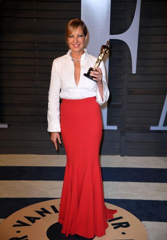 Allison Janney – 2018 Vanity Fair Oscar Party in Beverly Hills