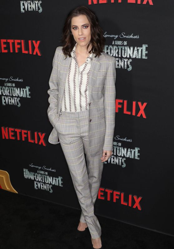 """Allison Williams – """"A Series of Unfortunate Events"""" TV Show Premiere in NYC"""