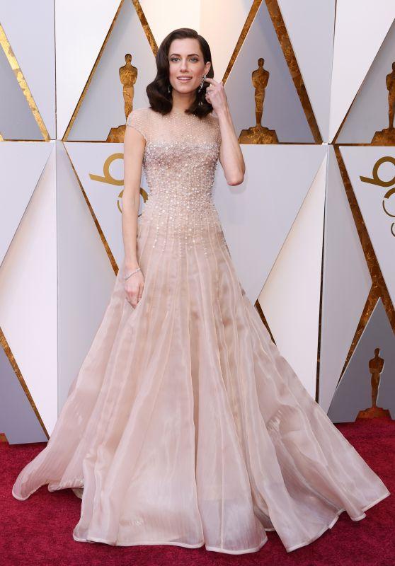 Allison Williams – Oscars 2018 Red Carpet