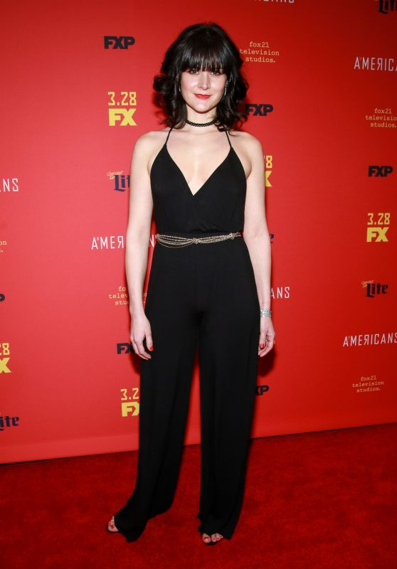"Alyssa Monks - ""The American's' TV Show Premiere in NY"