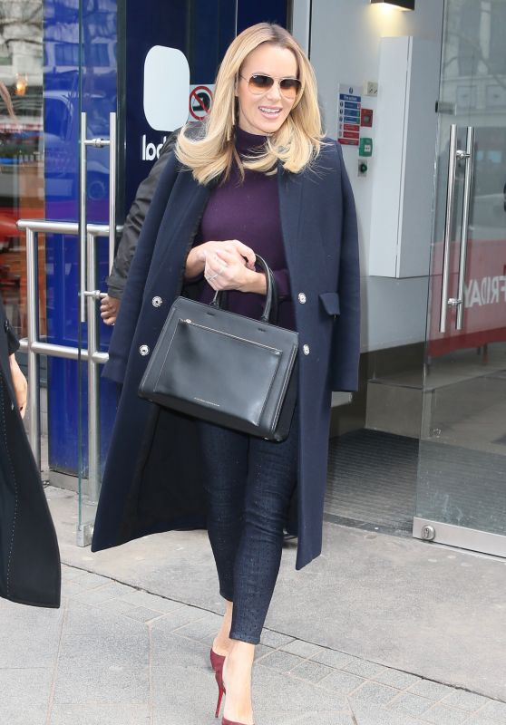 Amanda Holden Style - Global Studios in London 03/06/2018