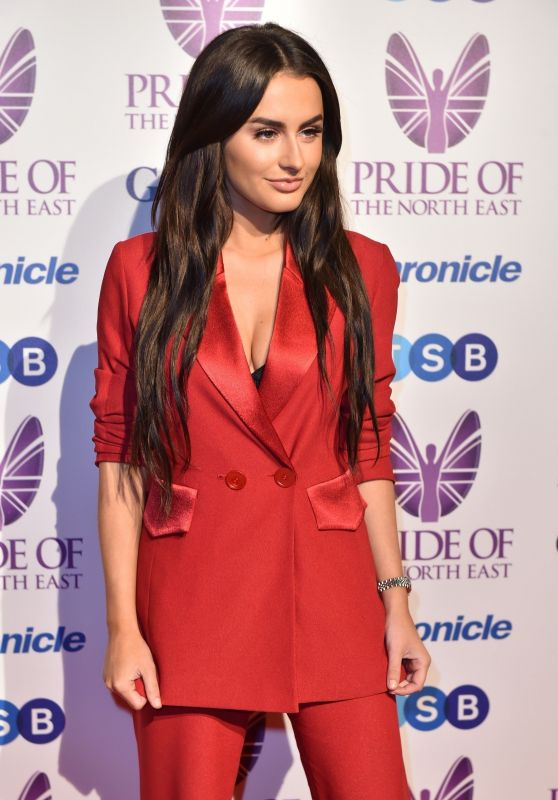 Amber Davies - 2018 Pride Of The North East Awards in Newcastle