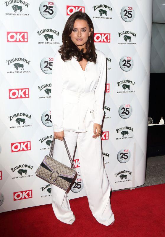 Amber Davies – OK! Magazine's Party in London 03/21/2018