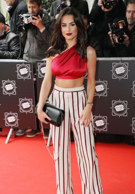 Amber Davies – TRIC Awards 2018