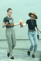 Amber Heard and Whitney Heard Out in Los Angeles 03/12/2018