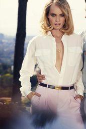Amber Valletta - Photoshoot for Elle April 2018