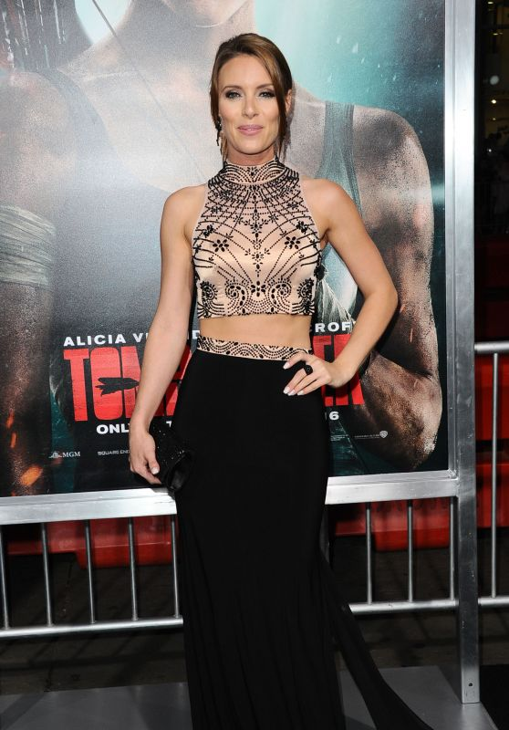 "Amy Pemberton – ""Tomb Raider"" Premiere in Hollywood"