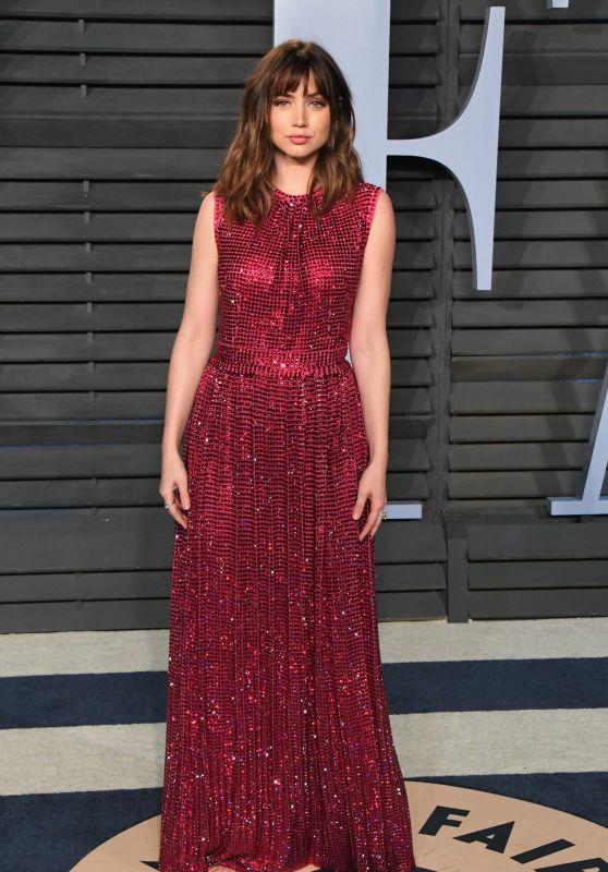Ana De Armas – 2018 Vanity Fair Oscar Party in Beverly Hills