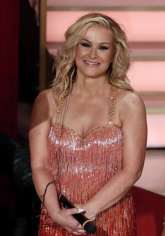 Anastacia - Dancing with the Stars TV Show in Rome 03/24/2018