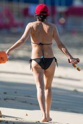 Andrea Corr in Bikini at the Beach in Bridgetown 03/24/2018