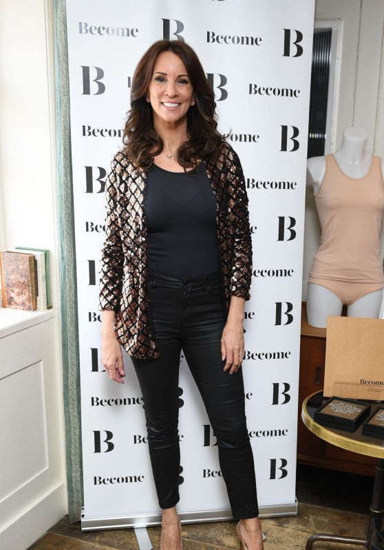 Andrea McLean at Soho House in London 03/08/2018