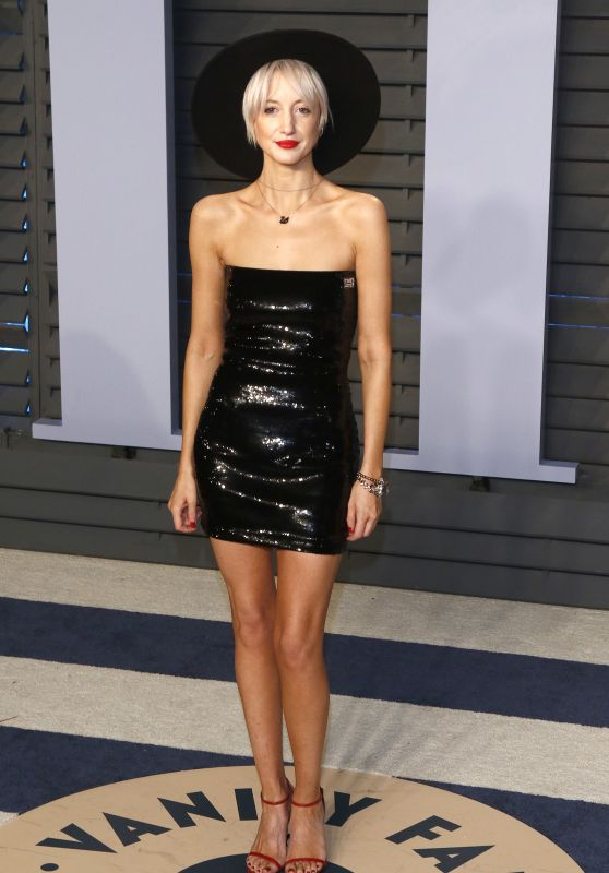 Andrea Riseborough – 2018 Vanity Fair Oscar Party in Beverly Hills