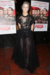 "Andrea Riseborough - ""The Death of Stalin"" Premiere in Los Angeles"