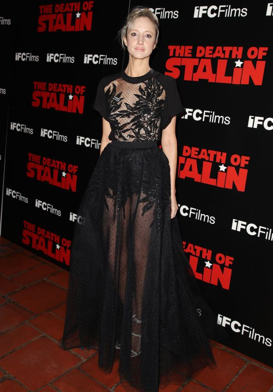"Andrea Riseborough - ""The Death of Stalin"" Premiere in Los Angeles"