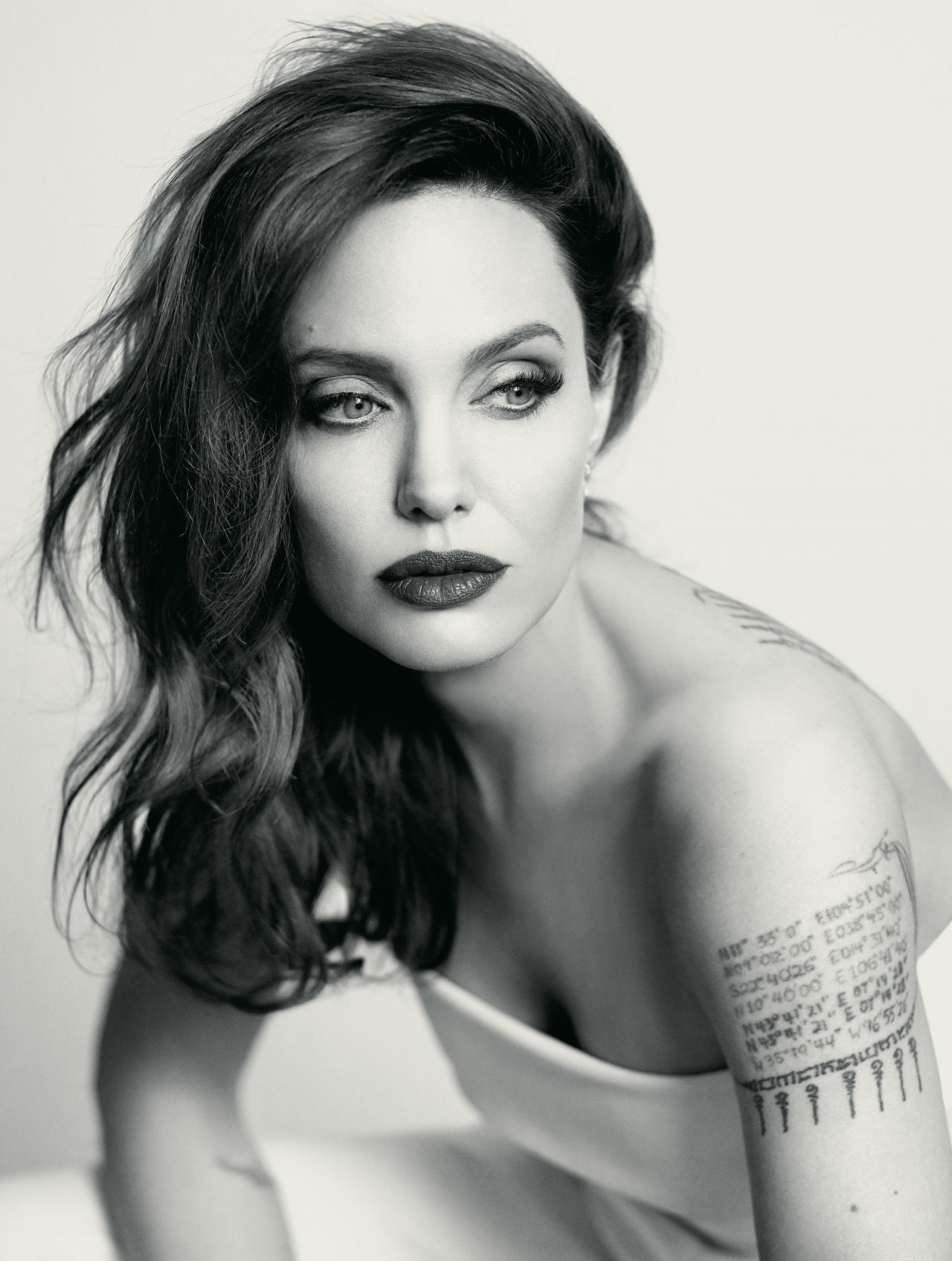 Angelina Jolie Photoshoot For Mon Guerlain 2018