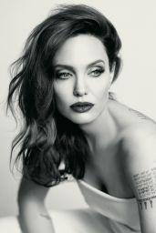 Angelina Jolie - Photoshoot for Mon Guerlain 2018