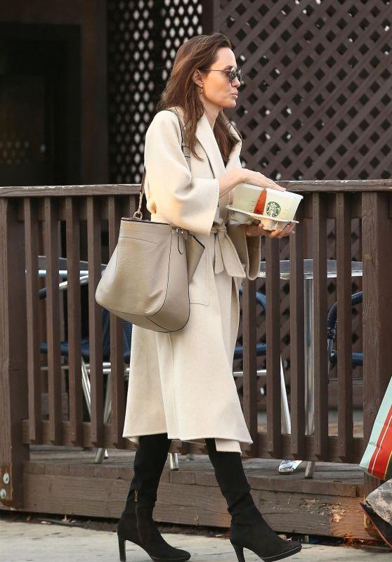 Angelina Jolie - Shopping Around Studio City, March 2018