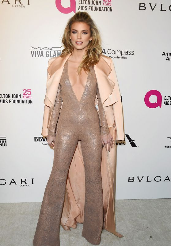 AnnaLynne McCord – Elton John AIDS Foundation's Oscar 2018 Viewing Party in West Hollywood