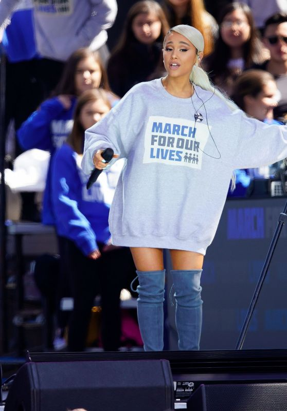 Ariana Grande – March For Our Lives Event in LA 03/24/2018