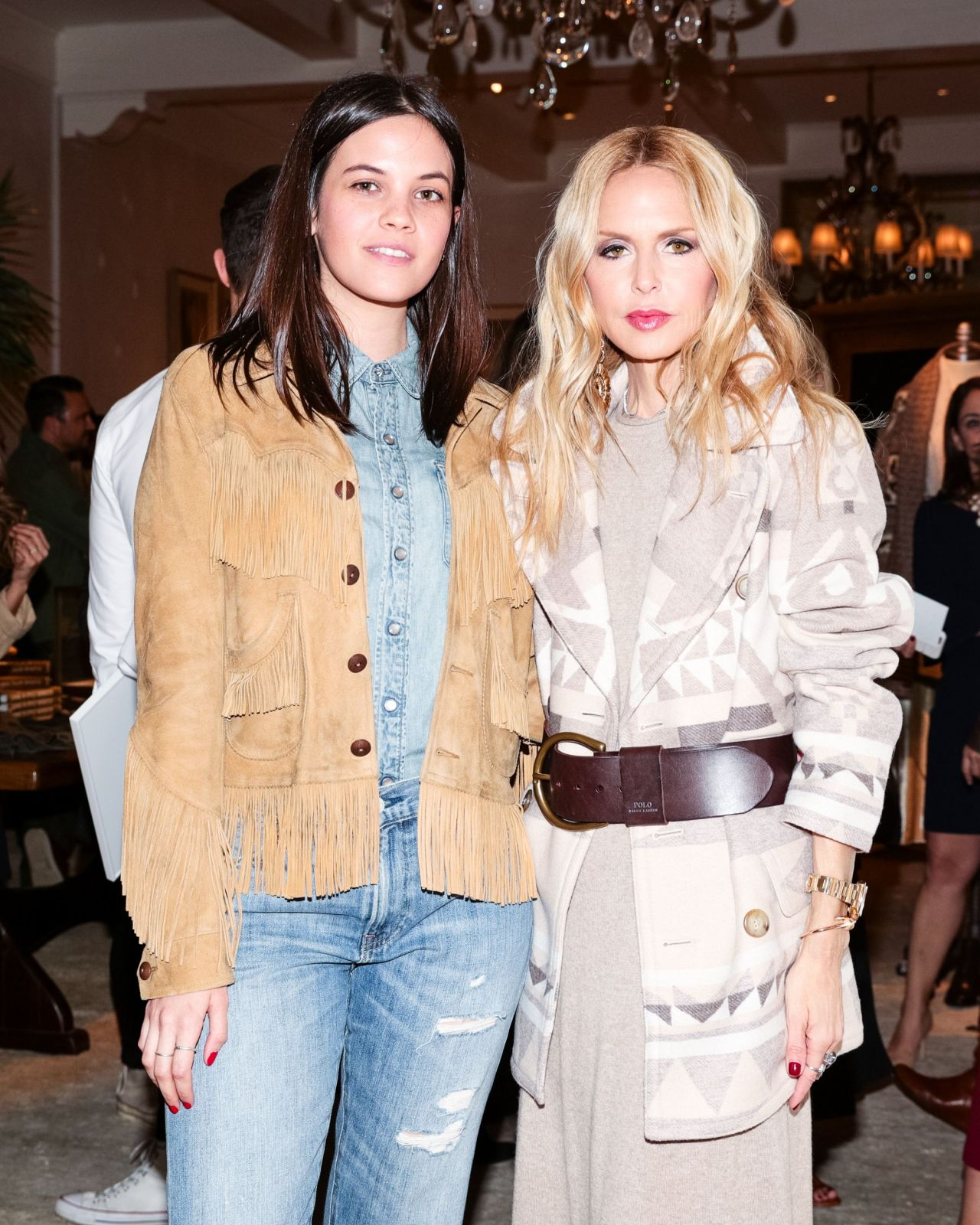 ariel mortman � polo ralph lauren event in la