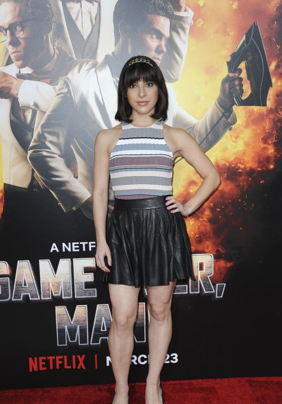 "Ashley Arpel Greenwald – ""Game Over, Man!"" Premiere in LA"