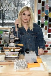 Ashley Benson at American Eagle in New York 03/22/2018