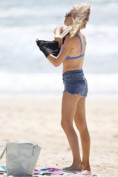 Ashley Irvin in Bikini on a Gold Coast Beach, March 2018