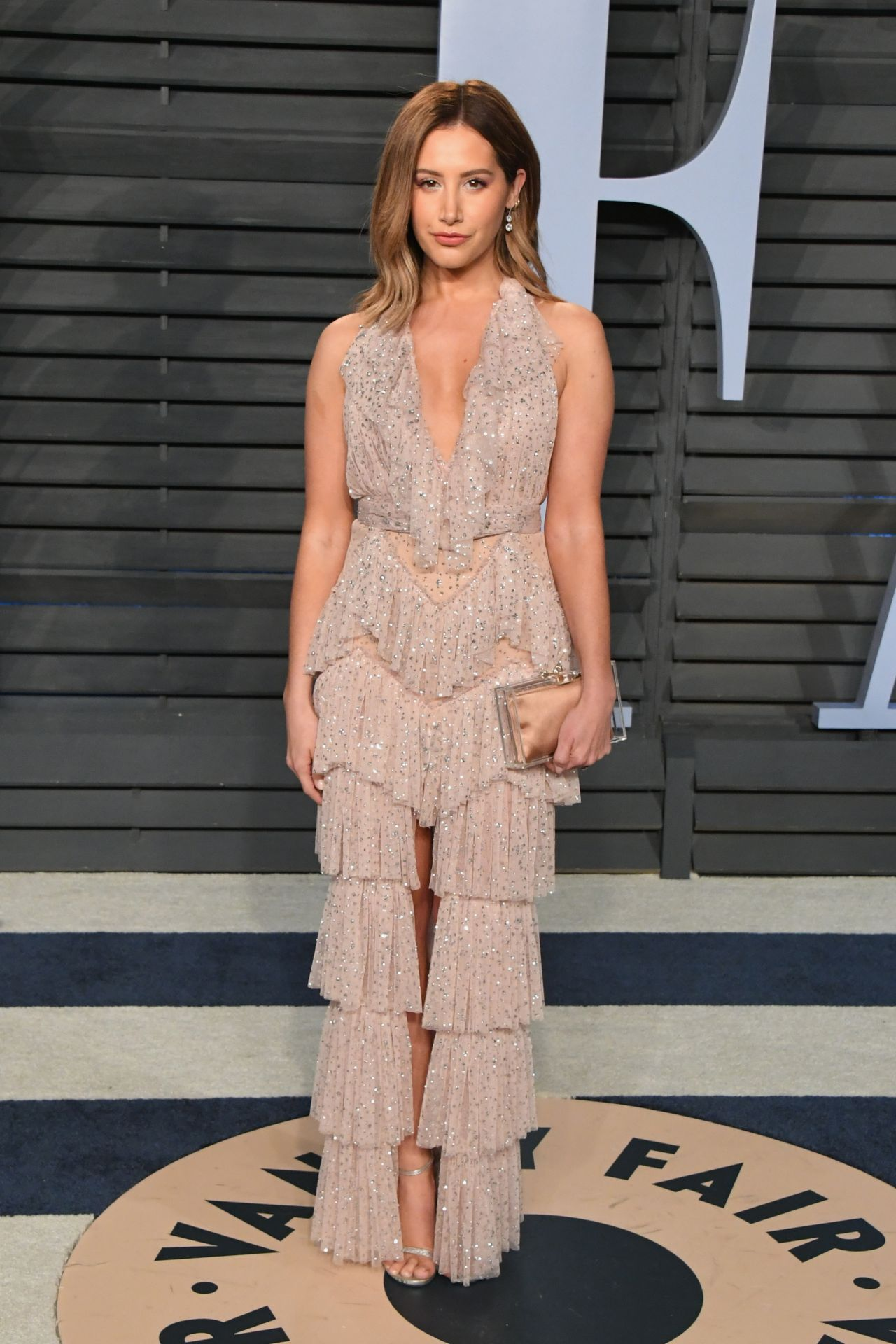 Ashley Tisdale 2018 Vanity Fair Oscar Party In Beverly Hills