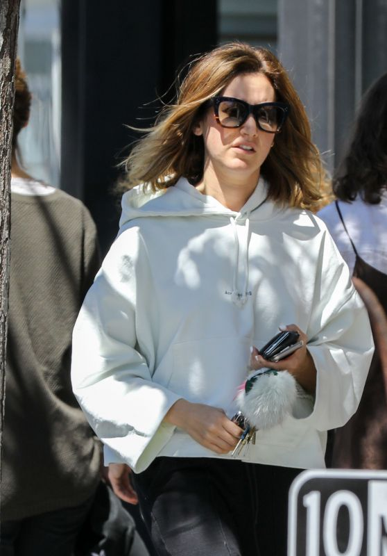 Ashley Tisdale - Running Errands in Studio City 03/27/2018