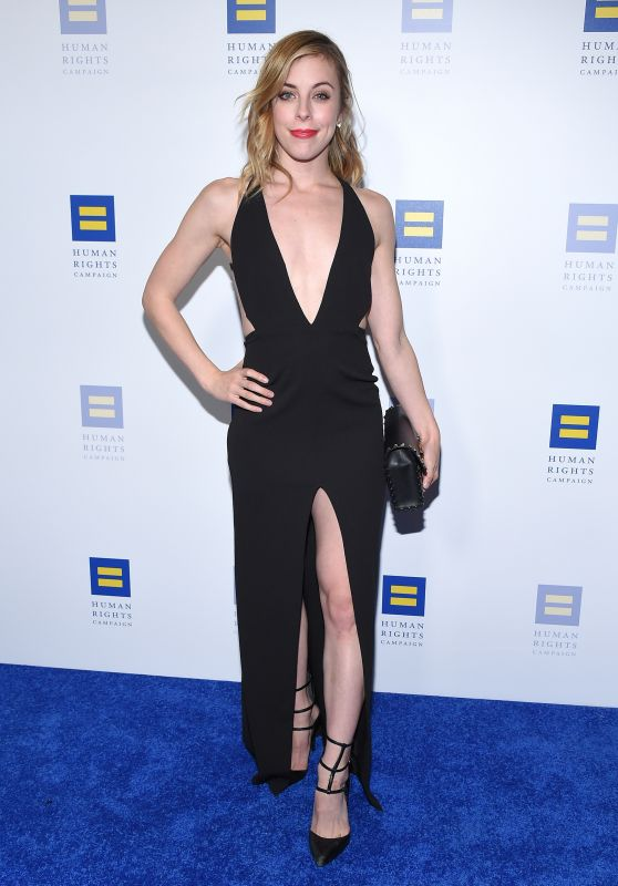 Ashley Wagner – The Human Rights Campaign 2018 Los Angeles Dinner