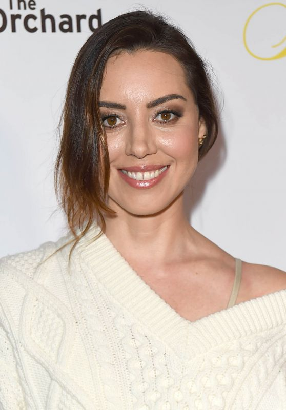 "Aubrey Plaza - ""Flower"" Premiere in Los Angeles"