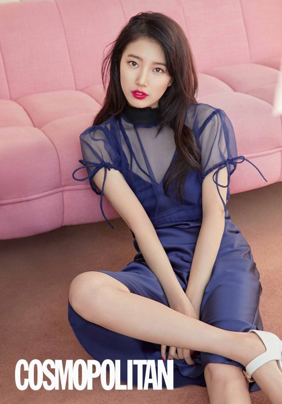 Bae Suzy - Cosmopolitan Magazine April 2018