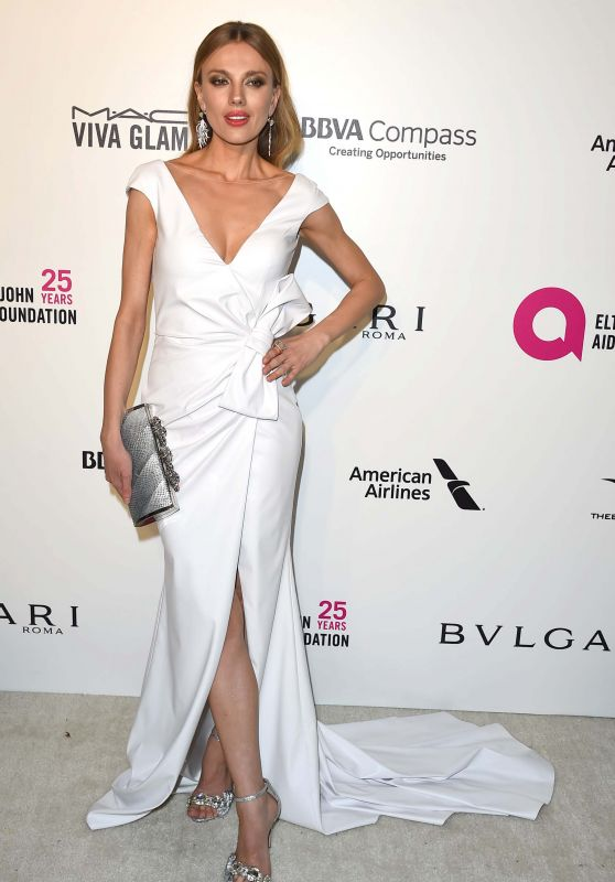 Bar Paly – Elton John AIDS Foundation's Oscar 2018 Viewing Party in West Hollywood