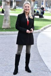 """Barbara Bouchet – """"Put Your Grandmother in the Freezer"""" Photocall in Rome"""